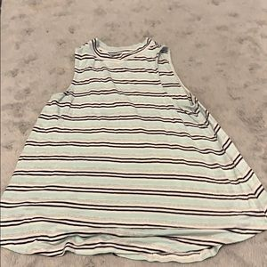 Justice striped tank top